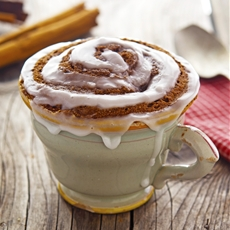 (Paleo) Cinnamon Roll In A Mug