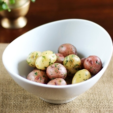 New Potatoes with Herbs and Anchovy Butter