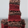 Red Velvet Oreo Truffle Chocolate Crunch Brownies