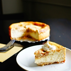Cinnamon Swirl Cheesecake