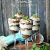 Coconut Cream Tiramisu Glasses