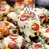 Pepperoni Pizza Stuffed Mushrooms