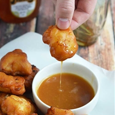 Maple Waffle Chicken Nuggets