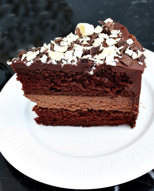 Chocolate Cheesecake Cake