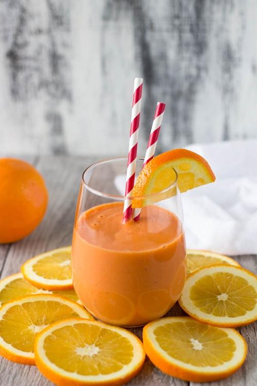 """Stress Buster"" Orange Smoothie"