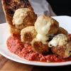 Mozzarella Stuffed Italian Chicken Meatballs