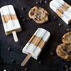 Skinny Cookie Dough Popsicles
