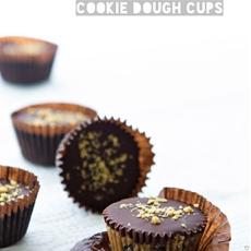 Chocolate & Peanut Butter Cookie Dough Cups