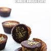 Chocolate & Peanut Butter Cookie Dough Cups