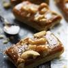 Caramel Cashew Shortbread Bars