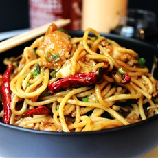 CPK Best-Seller Kung Pao Chicken Spaghetti (Copycat)