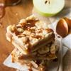 Caramel Apple Shortbread Crumble Bars