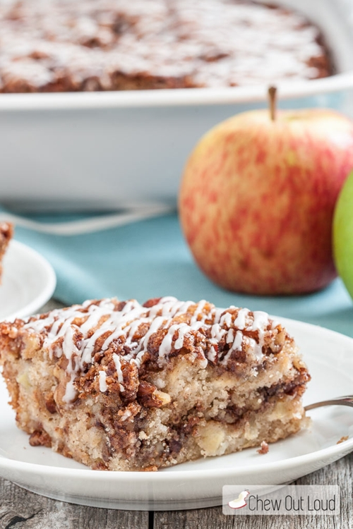 One-Bowl Apple Streusel Coffee Cake