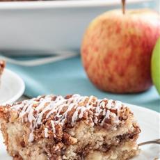 One-Bowl Apple Streusel Coffee Cake