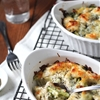 Chicken and Broccoli Baked Rice Hong Kong Style