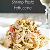 30 Minute Shrimp Pesto Pasta