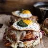 Thanksgiving Leftovers Croque Madame