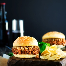 Sloppy Joes With Caramelized Onions