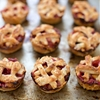 Easy Mini Raspberry Peach Pies