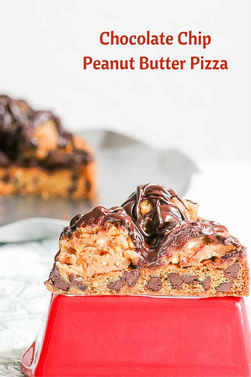 Chocolate Chip Peanut Butter Pizza