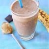 Chocolate, Peanut Butter, and Banana Smoothie