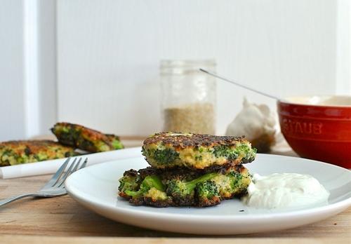 Broccoli and Quinoa Patties