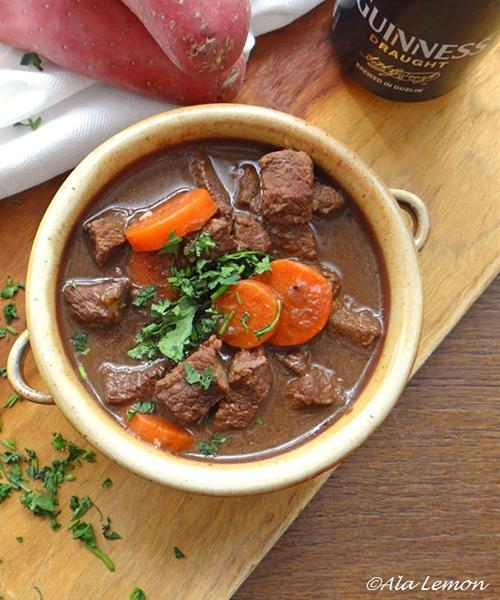 Beef & Guinness stew