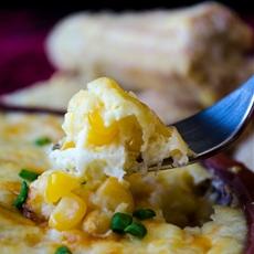 Creamy Cheesy Corn Casserole
