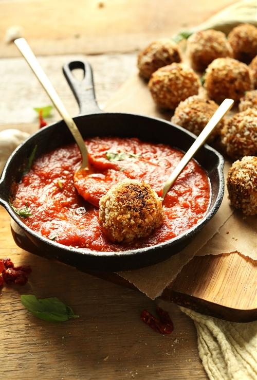 Sun-dried Tomato & Basil Arancini (Vegan)