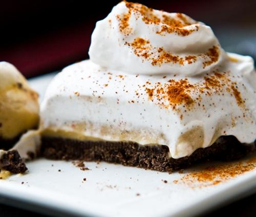 Coconut Espresso Cream Pie