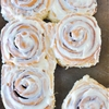 Jumbo Cinnamon Rolls with Cream Cheese Frosting