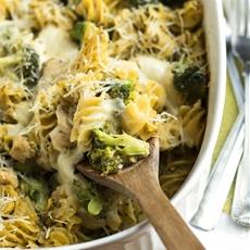 Broccoli & Chicken Pesto Pasta