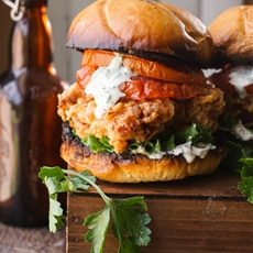 The Charleston Chicken Sandwich