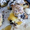 Lemon & Blueberry Scones with Lemon Curd & Buttermilk Whipped Cream