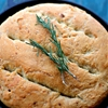Rosemary and Garlic No-Knead Skillet Bread