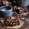 Salted Caramel Mocha + Nutella Brownies