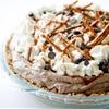 Chocolate Mousse Pie with Pretzel Crust