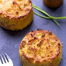 Oven Baked Mashed Potato Cakes