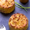 Oven Baked Mashed Potato Cakes