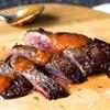 Charred pepper steak sauce