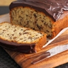 Chocolate Chip Pound Cake with Chocolate Ganache