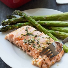 Baked Honey Salmon