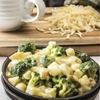 Healthy Cheesy Skillet Potatoes with Broccoli