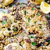 Lemon Parmesan Cauliflower Steaks