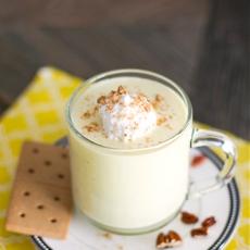 Healthy Banana Cream Pie Milkshake -high protein, sugar free, fat free