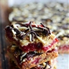 Oatmeal Chocolate & Cranberry Bars