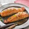 Sesame-Soy Salmon with Ginger Honey Glaze