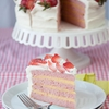 Strawberry Lemon Cream Cake