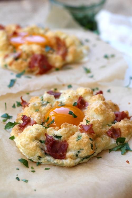 Cloud Breakfast Eggs
