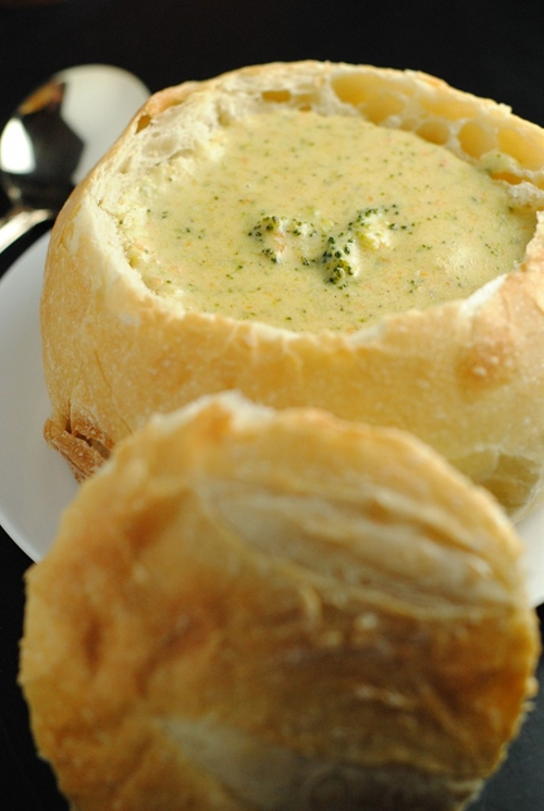 Comforting Broccoli Cheese Soup